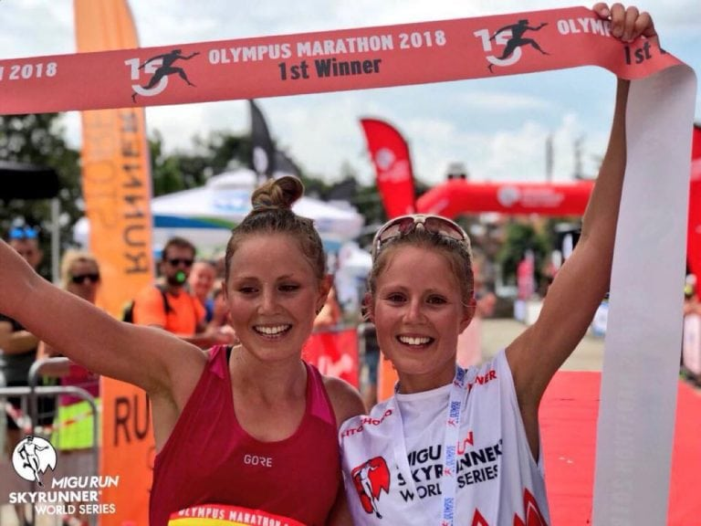 El Kott sisters - 2018 Olympus Marathon