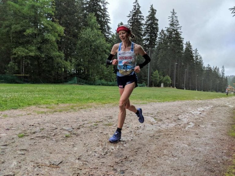Charlotte Morgan - 2018 World Mountain Running Association Long Distance Championships champion
