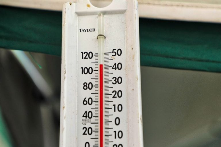 2018 Western States 100 - temperature