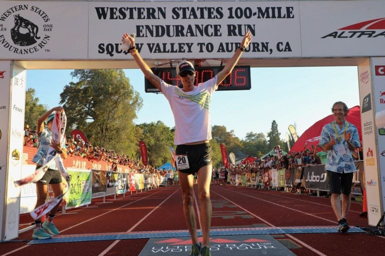 2018 Western States 100 - Jim Walmsley - Finish