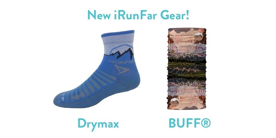 iRunFar BUFF and Drymax sock - 2x1