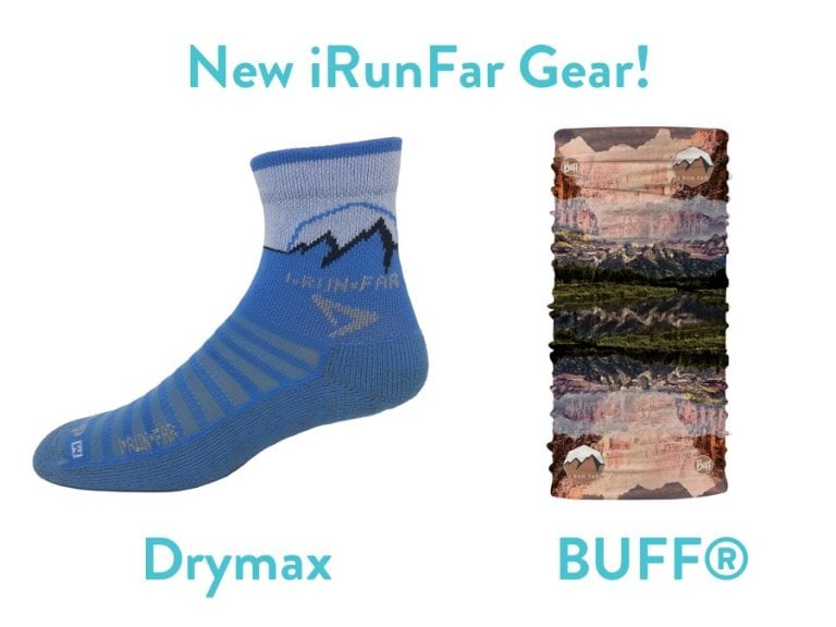 iRunFar BUFF and Drymax sock