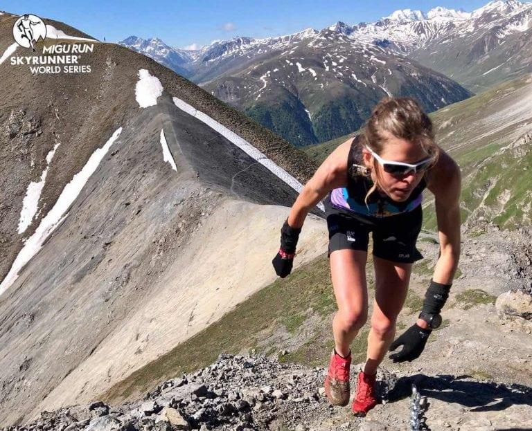 Laura Orgue - 2018 Livigno Skymarathon champion