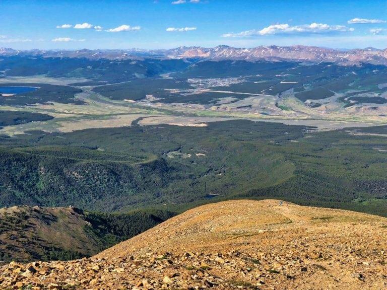 Mount Elbert with Betsy Nye sighting