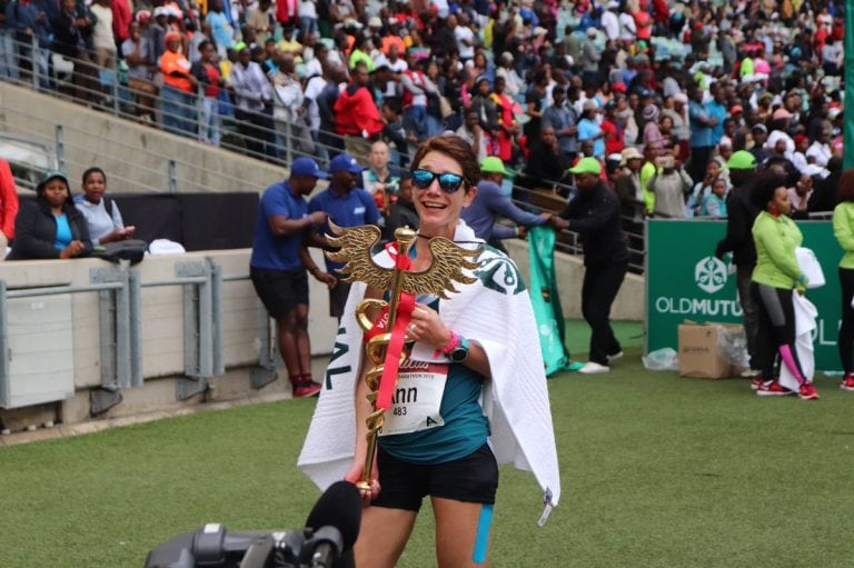 Ann Ashworth - 2018 Comrades Marathon champion
