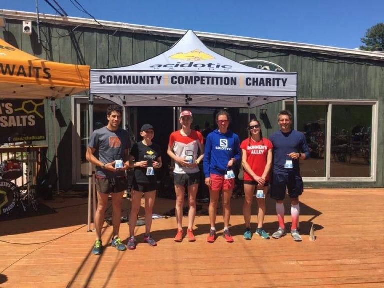 2018 Cranmore Mountain Race podium