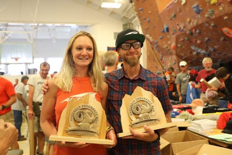 Sabrina Stanley and Jeff Browning - 2018 Hardrock 100 champions