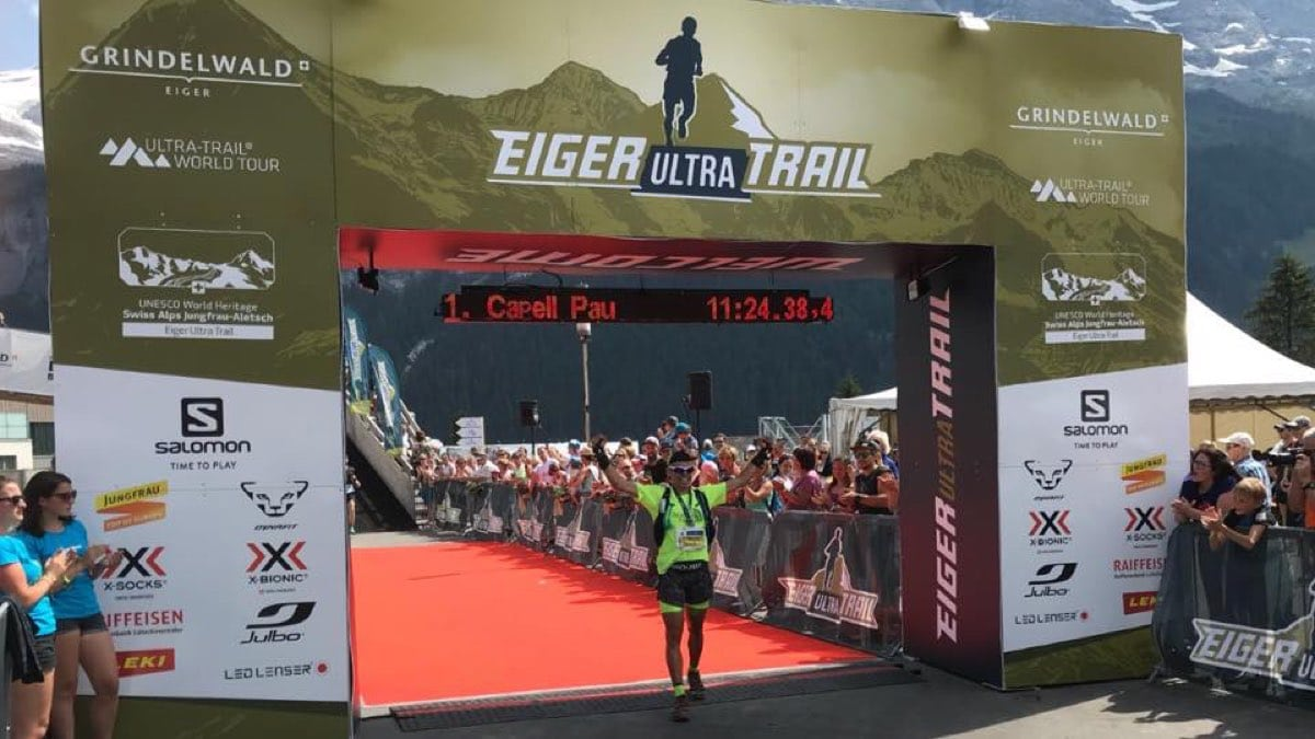 Pau Capell - 2018 Eiger Ultra Trail champion