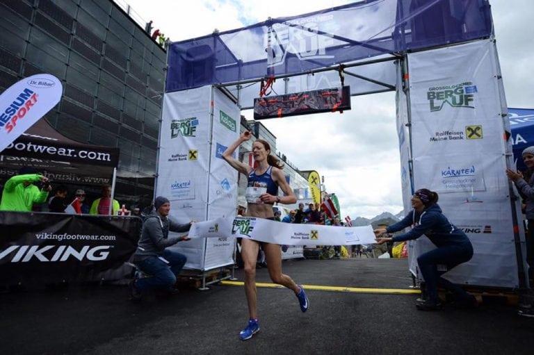 Andrea Mayr - 2018 Glossglockner Berglauf champion