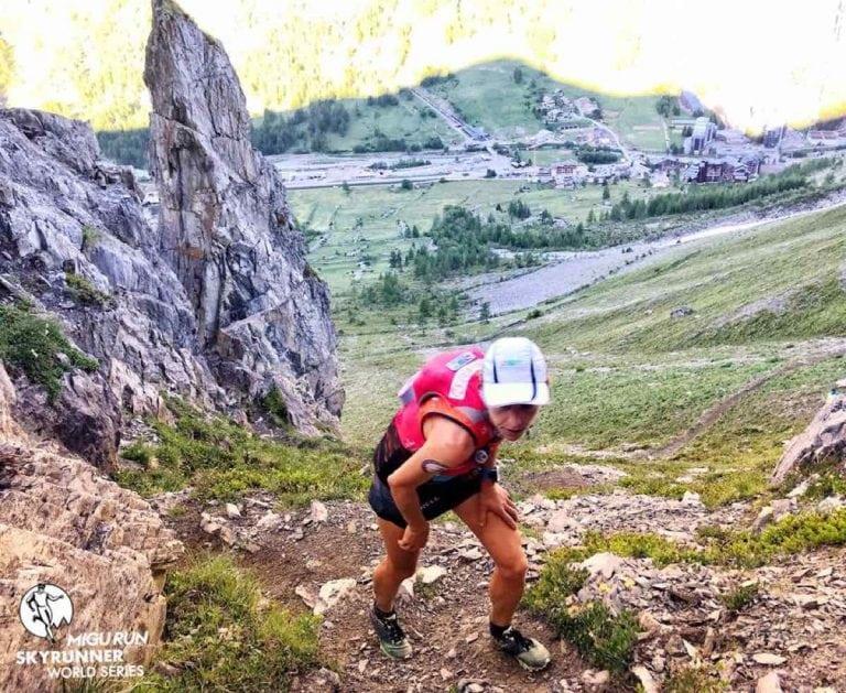 Ragna Debats - 2018 High Trail Vanoise champion