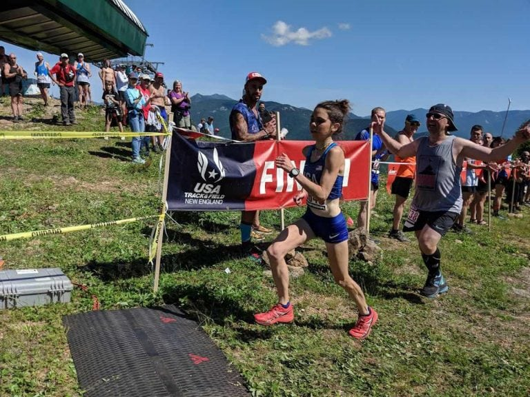 Allie McLaughlin - 2018 US Mountain Running Championships winner