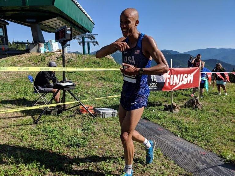 Joe Gray - 2018 US Mountain Running Championships winner