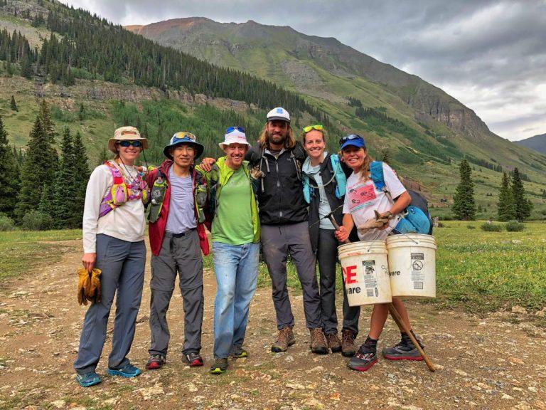 2018 Hardrock 100 trail work