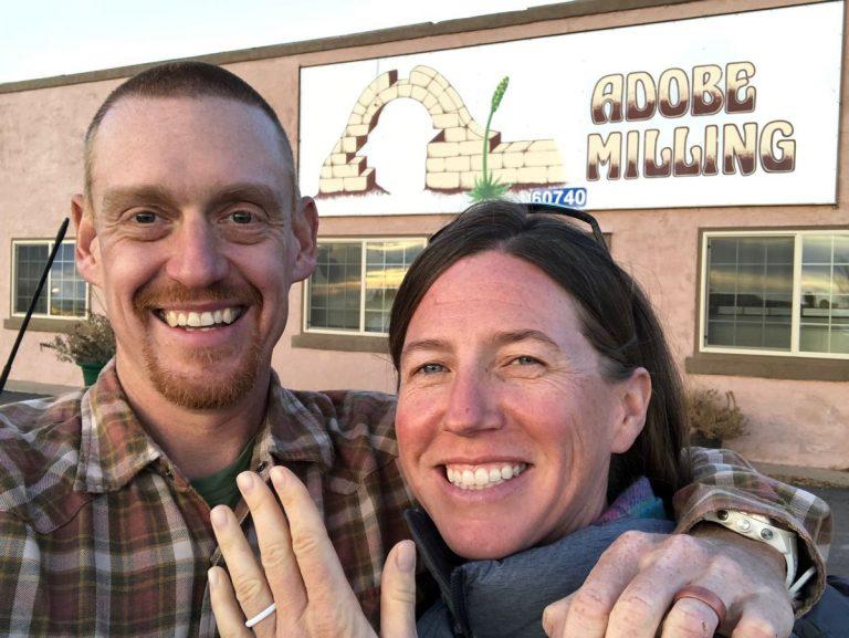 Meghan Hicks - Bryon Powell - Married Dove Creek Colorado