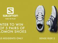 Salomon Sense Ride 2 Giveaway (US Only)