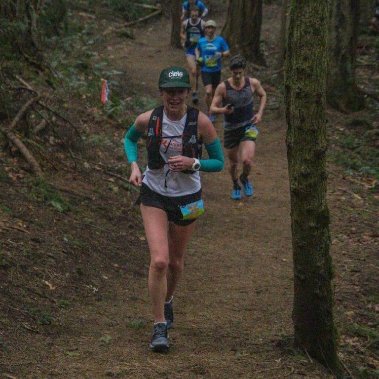 Kathryn Drew- 2019 Chuckanut 50k champion