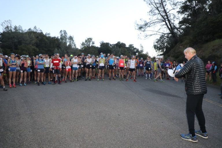 2018 Lake Sonoma 50 Mile start
