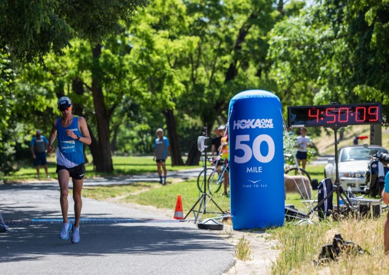 Jim Walmsley - 2019 50 Mile World Record - Setting the Record