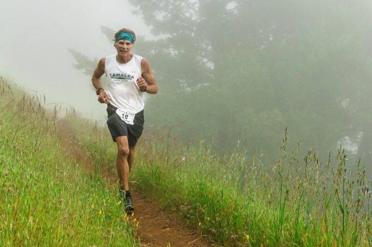 Mark Richtman on the trails