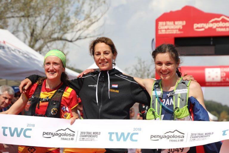 2018 Trail World Championships - Womens podium