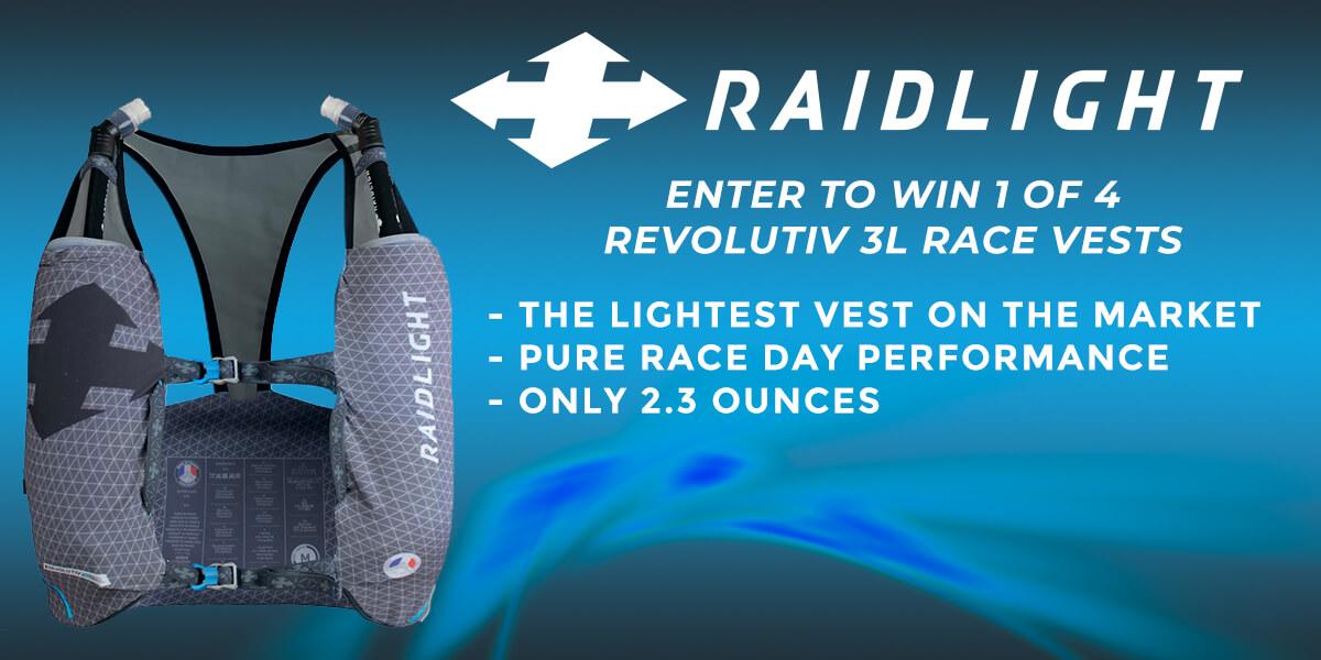 RaidLight Revolutiv 3L Race Vest Giveaway