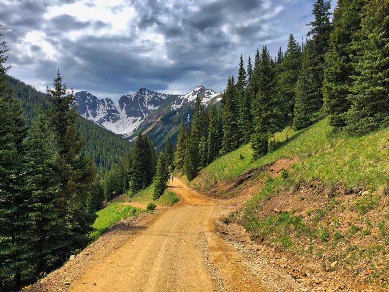 Toward Velocity Basin - 2019 Silverton Alpine Marathon