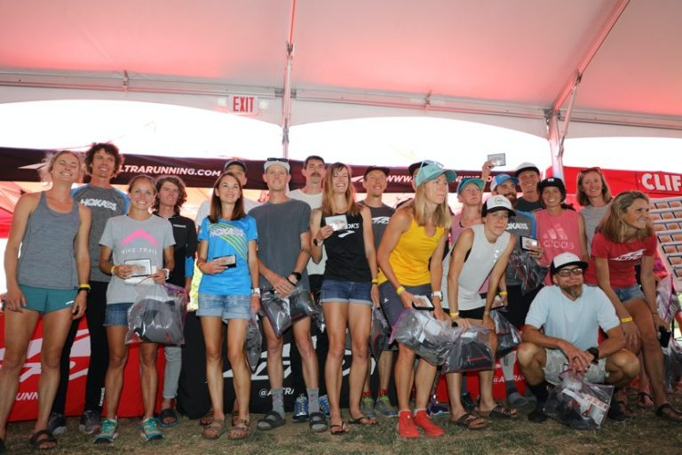2019 Western States 100 Top 10 men and women