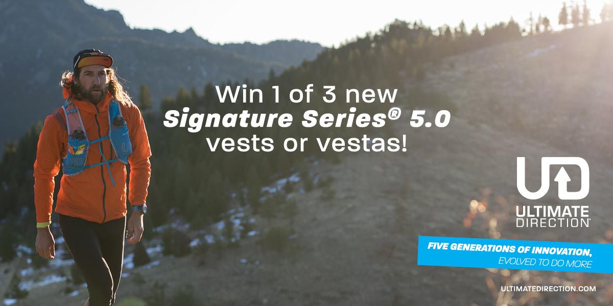 Ultimate Direction Signature Series 5 Contest