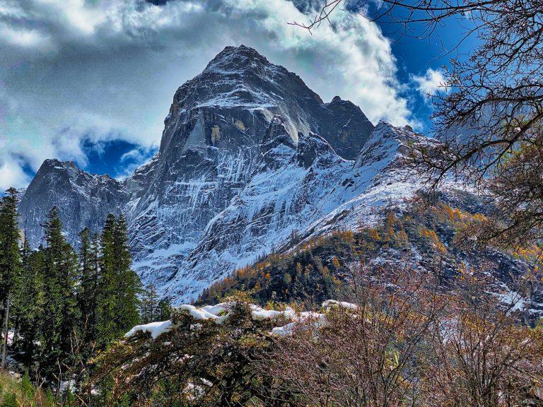 A Peak high in Shuangqiao Valley