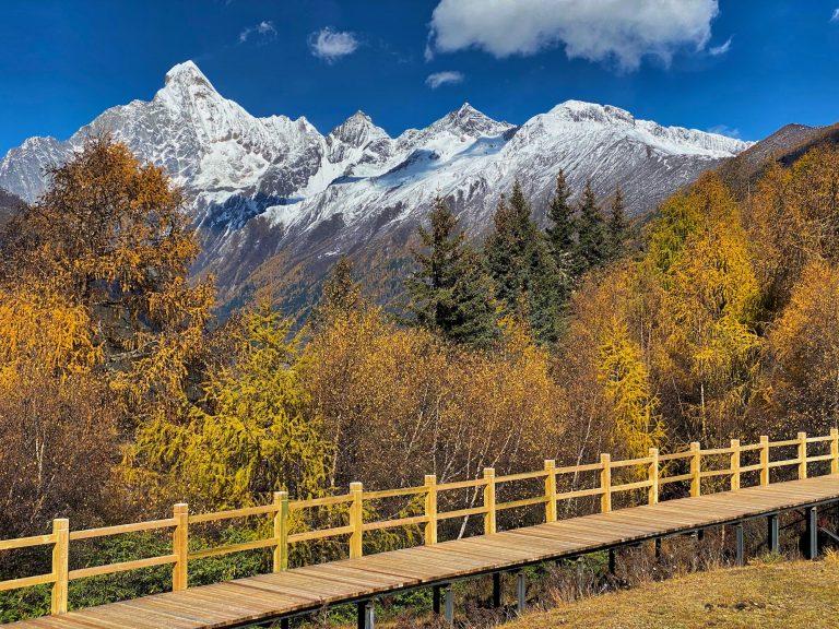 Mount Siguniang and Boardwalk