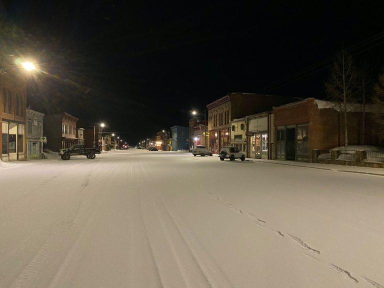 Silverton night run