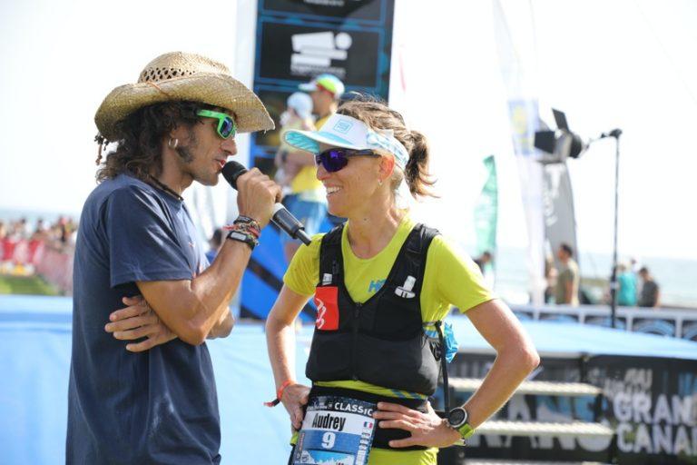 2020 Transgrancanaria - Audrey Tanguy finish