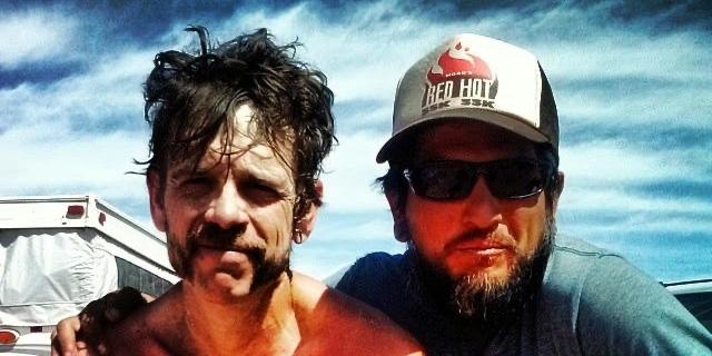 Ian Torrence - Chris Martinez - 2014 Behind the Rocks 50k - 2x1