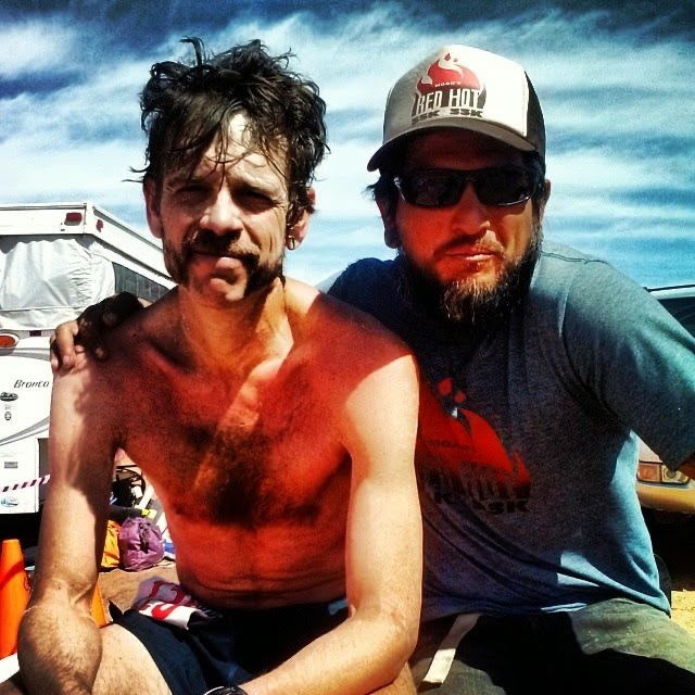 Ian Torrence - Chris Martinez - 2014 Behind the Rocks 50k