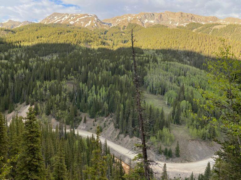 Boulder Mountain view