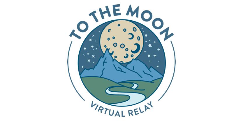 To The Moon Virtual Relay logo - 2x1