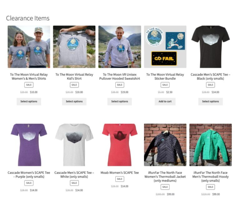 iRunFar Store Clearance Items