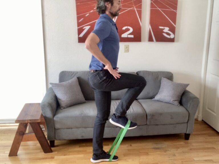 Hip Flexion - Standing Hip March Exercise