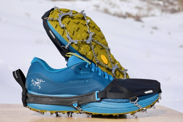 Black Diamond Distance Spike - winter running traction device