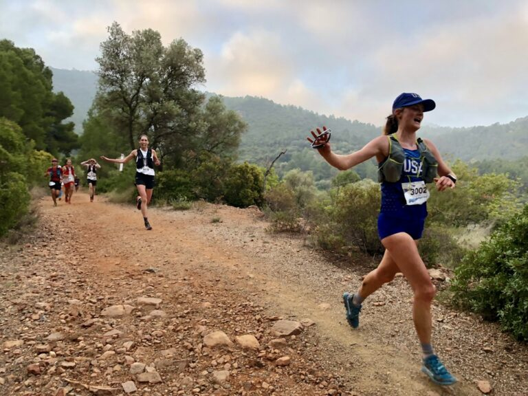 Clare Gallagher and Anne-Marie Madden - 2018 Trail World Championships