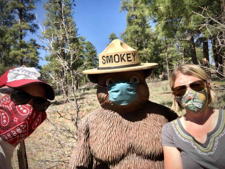 Dave James - Amy French - Smokey Bear