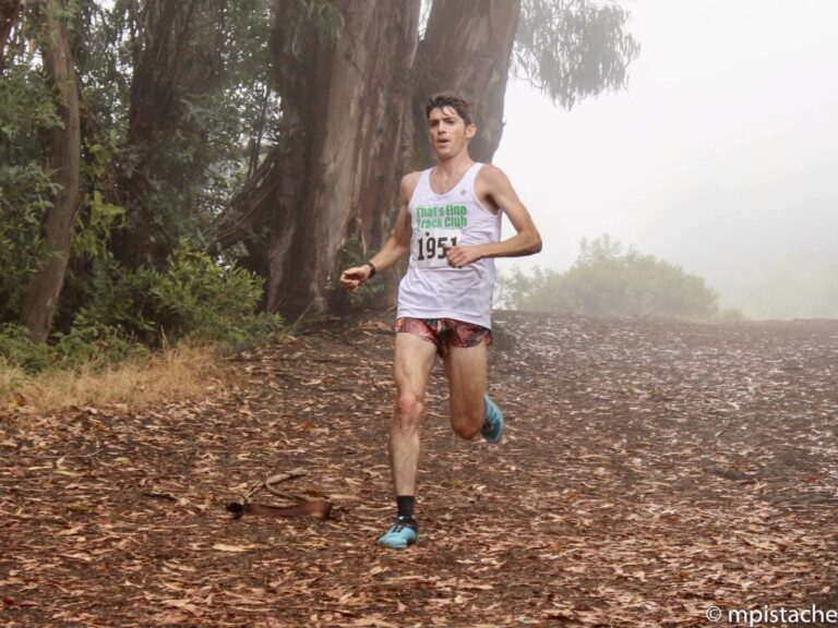 Trail running Oakland California - Sam Robinson - 2017 Woodmonster 9 Mile