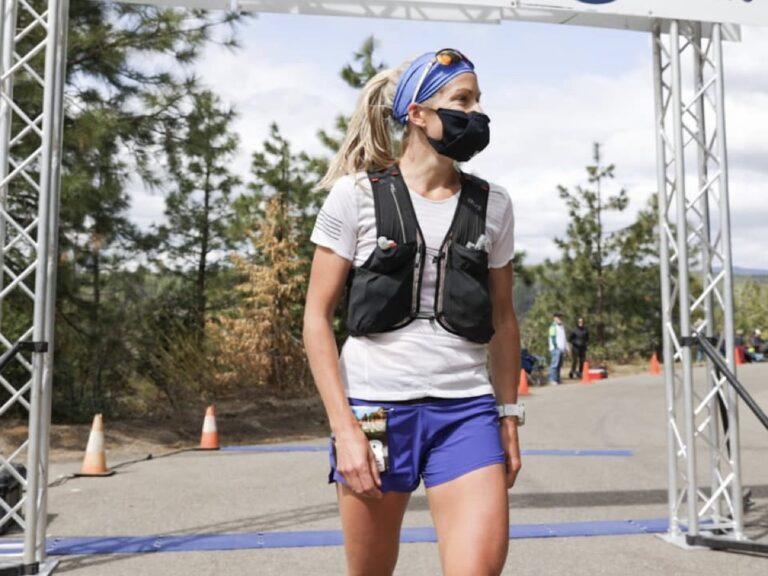 Beth Pascall - 2021 Canyons 100k champion