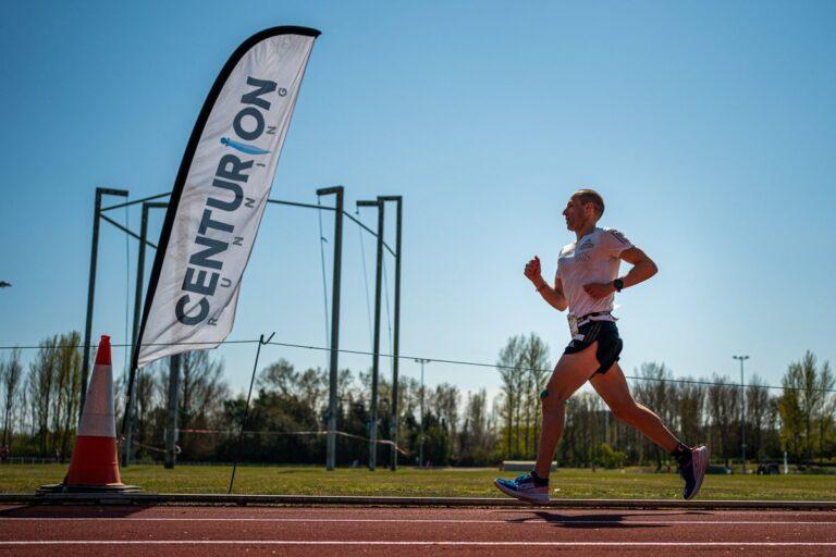Aleksandr Sorokin - 100 mile world record - Centurion Running Track 100 Mile