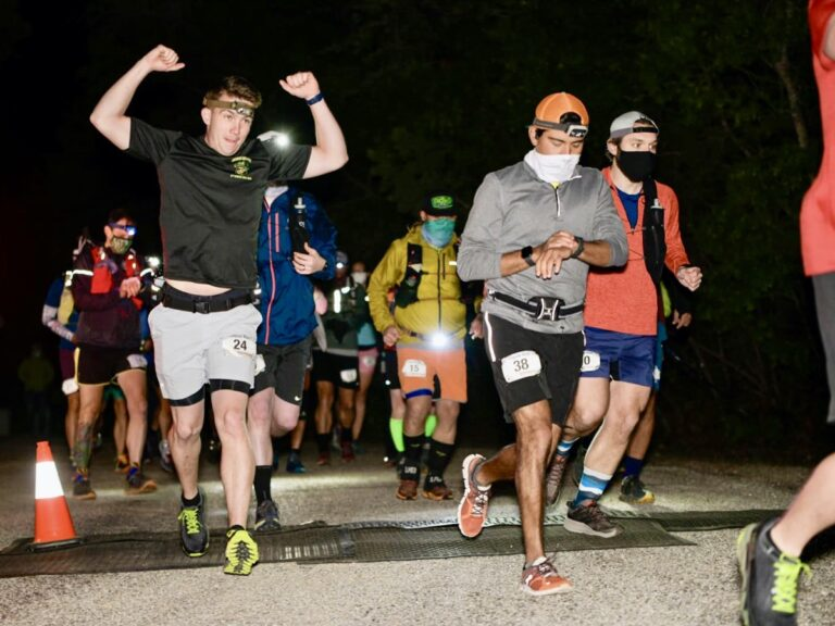 Coyote Trail Run 50 Mile start