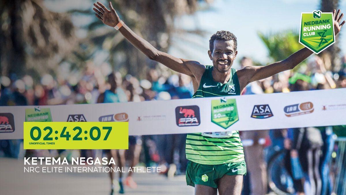 Ketema Negasa - 50k World Record