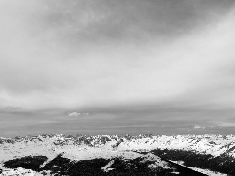 Hannah Green - Weminuche ski traverse - mountain scenery