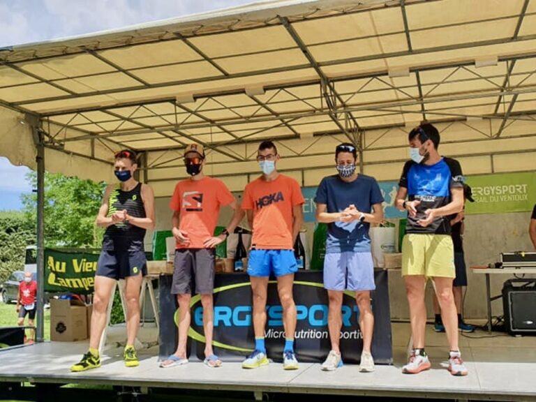 2021 Trail du Ventoux mens podium