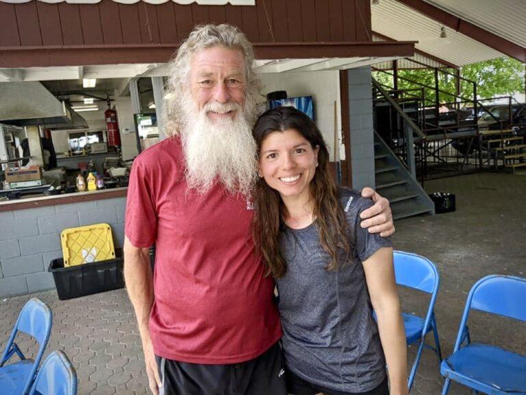 Bob Compton and Glenda Hernandez at the 2021 3 Days at the Fair