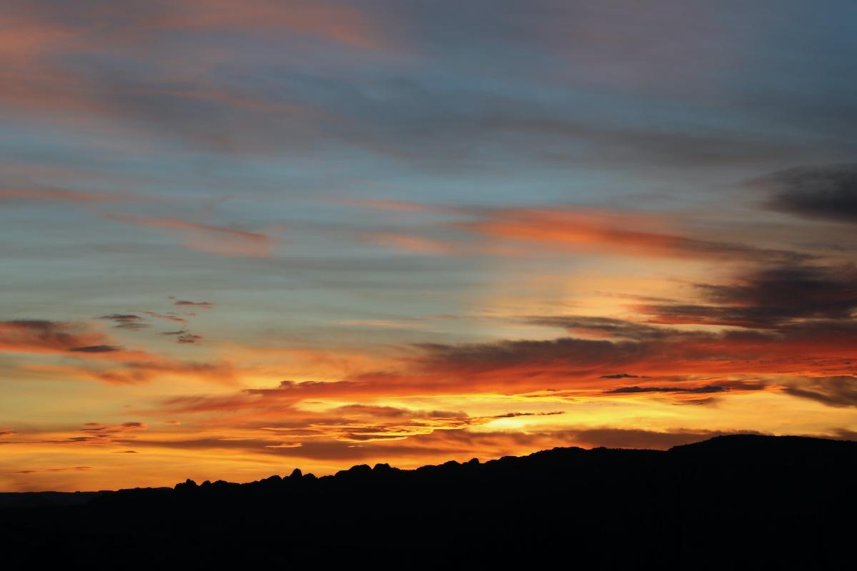 Pack Creek sunset